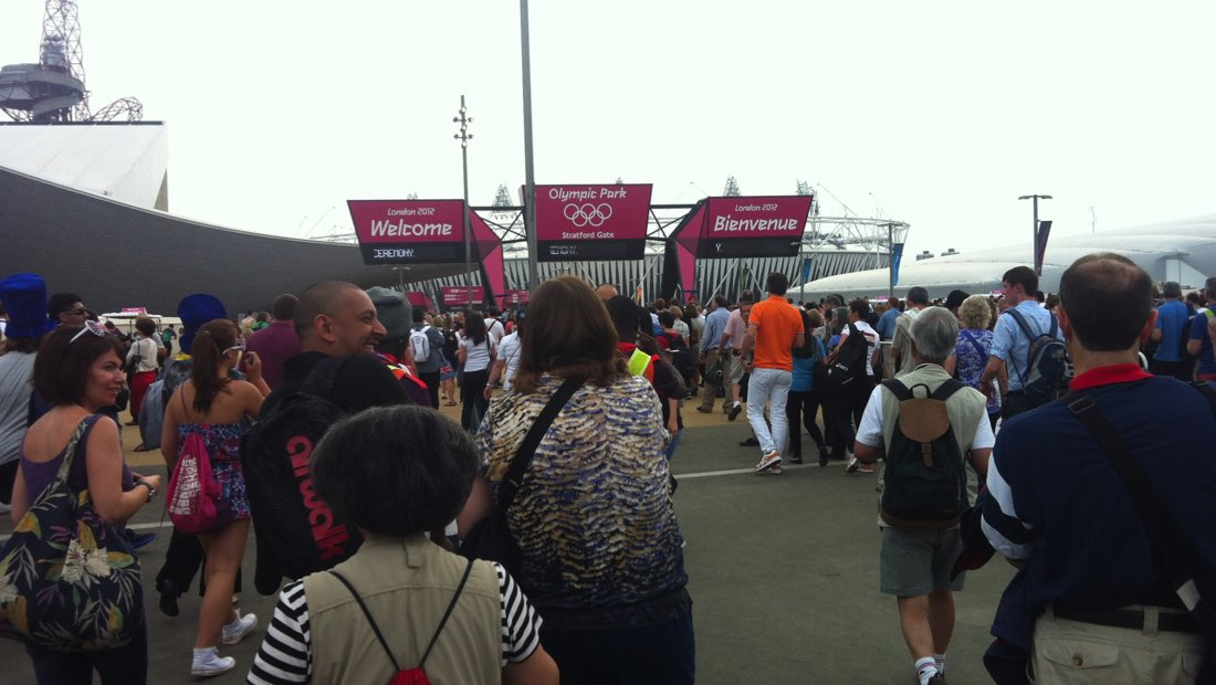 Image of entrance to Olympic Opening Ceremony for All the Rings blog