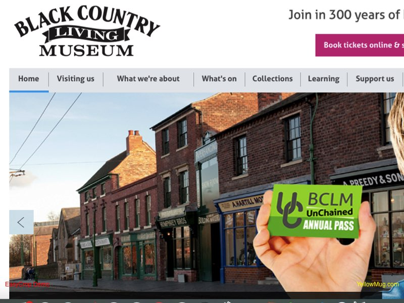 Black Country Living Museum homepage