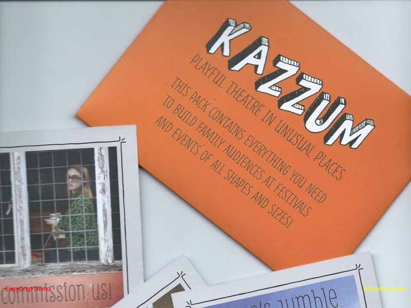 Artwork for Kazzum postcards