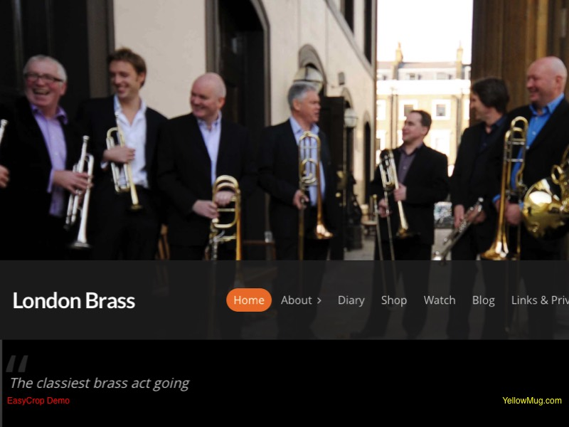 London Brass homepage