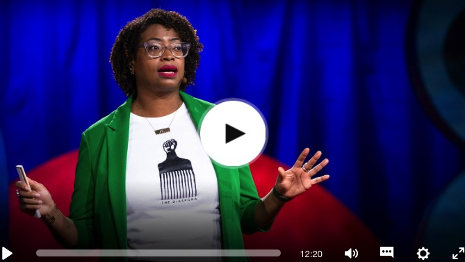 TedTalk Screenshot from Ariana Curtis' MuseumsShould Honour the Everyday