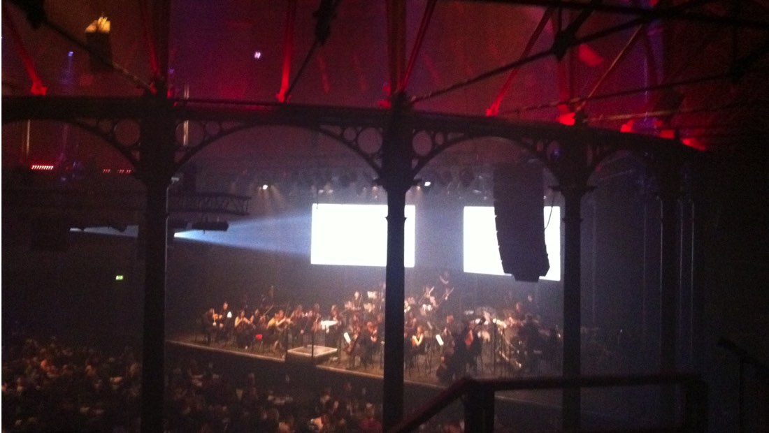 Aurora Orchestra playing at the Roundhouse, 2012