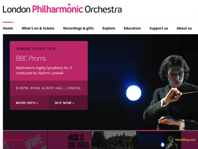 London Philharmonic Orchestra homage