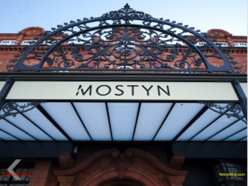 Entrance to Mostyn gallery